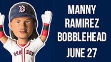 Manny Ramirez #24 Manny Being Manny Boston Red Sox Bobblehead SGA 6/27/17 NIB