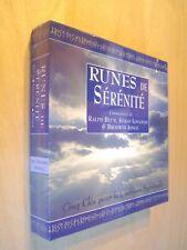 Runes de sérénité Coffret Cinq Clés pour la Guérison spirituelle Livre + Pierres