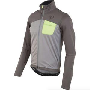 Pearl Izumi Gray Select Escape Soft Shell Cycling Jacket Men's Size S 83235