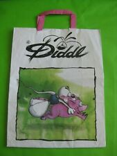 Diddl - Lot 4 sacs papiers grand format - usagés