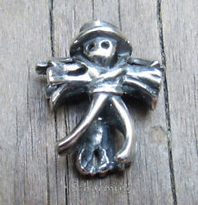 Authentic Trollbeads Silver Scarecrow TAGBE-20196