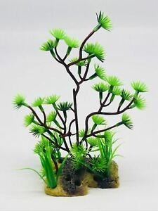 WATER GRASS PLANT PLASTIC ORNAMENT FOR TURTLE FISH TANK