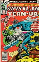 Super-Villain Team-Up (Marvel, 1975 series) #7 VF  Dr. Doom Sub-Mariner