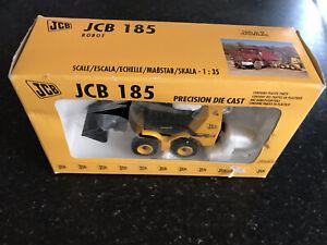 JCB 185 Precision Die Cast Model Contains Plastic Parts