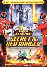 Power Rangers Samurai: Secret of the Red Ranger Vol. 4 [DVD] - BRAND NEW DVD!!