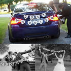 Just Married Garland Wedding Banner Car Bunting Western Venue Party Decor Sign J