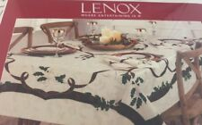 Lenox Holiday Nouveau Tablecloth 60x104 Cotton Polyester New MSRP $100