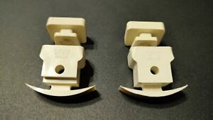 2 x Swish Curtain Track Brackets mounting brackets with screws.