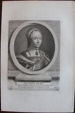 JEANNE GRAY, REINE D'ANGLETERRE (1537-1554)