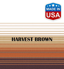 """13' RV Awning Replacement Fabric for A&E, Dometic (12'3"""") Harvest Brown"""