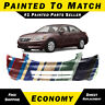 NEW Painted To Match Front Bumper Cover Fascia for 2011 2012 Honda Accord