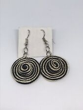 Dangle Earrings, Colombian sombrero vueltiao style earrings