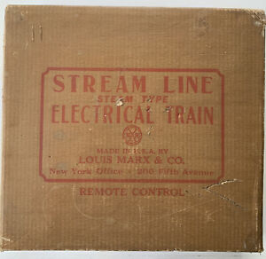 "Vintage MARX Stream Line Steam Train - Two ""Sets"" #25249 In Original Boxes"