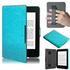 New Premium Slim Leather Smart Case Cover For New Amazon Kindle Paperwhite lot