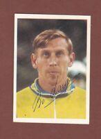 Bo Larsson .. Schwedischer Nationalspieler ... Signiertes Bergmann Bild