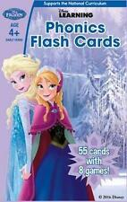 Frozen Phonics Flash Cards by Scholastic