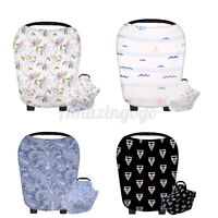 Nursing Cover Breastfeeding Scarf Baby Car Seat Cover Shopping Cart Cover US