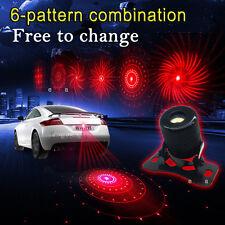 LED Laser Fog Light Brake Rear Warning Lamp Anti-Collision Tail light For Dodge