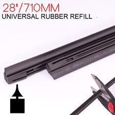 """2 x Front Rear Windscreen Wiper Rubber Refills 28"""""""