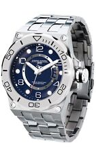 Jorg Gray JG9600-14 Mens Watch Blue Dial Swiss Movement Heavy Stainless Steel