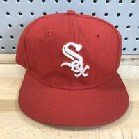 Chicago White Sox MLB Baseball YOUTH New Era 59FIFTY Fitted Cap Sz 6-3/8 Hat