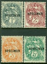 FRANCE : 1900. Maury #62-65 Overprint 'Specimen' All Fresh & VF MOGH. Cat €250.