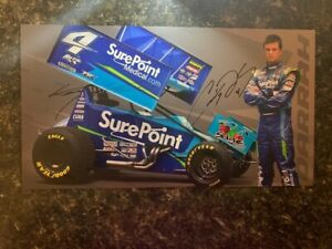 World of Outlaws Signed Cody Darrah Postcard – Combined Shipping Eligible