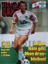 Programm 1991/92 Bayer 04 Leverkusen - 1. FC Köln