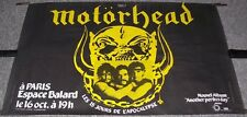 MOTORHEAD CONCERT POSTER 16th OCTOBER 1983 ESPACE BALARD THEATRE PARIS FRANCE