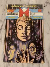 Miracleman 12 (Eclipse Comics) 1987- Alan Moore Few Creases In Corners