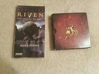 Riven PC Cdrom Game Plus Strategy Guide