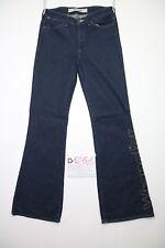 Wrangler joni special zampa jeans usato (Cod.D1251) Tg.44 W30 L34 donna bootcut