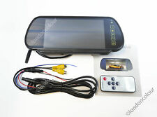 """7"""" Inch LCD Monitor With clip on current rear mirror function for Reverse Camera"""