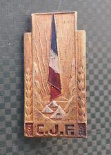insigne militaire chantiers de jeunesse CJF french badge ww2 abzeichen