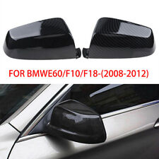 Carbon Fiber Car Door Wing Mirror Cover For BMW E60 F12 F13 F01 F02 F11 F10 F07