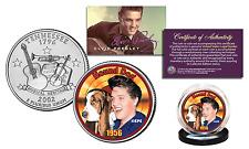 ELVIS PRESLEY * Hound Dog * Colorized Tennessee Statehood Quarter Coin LICENSED