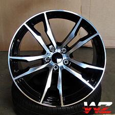 """20"""" Wheels X5  Style Rims fits BMW X5 X6 XDrive 35d 30I 50I Rims Machined Black"""