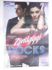 ZINDAGGI ROCKS 2006 Shiyney Ahuja Sushmita Sen  Rare Poster Bollywood Film Movie