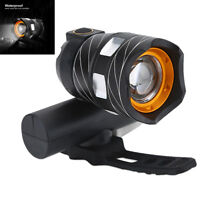 Night USB Rechargeable T6 LED Bicycle Bike Light Front Cycling Light Head Lamp
