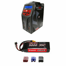 Venom 35C 3S 5000mAh 11.1V LiPo Battery with Pro Duo Charger Combo