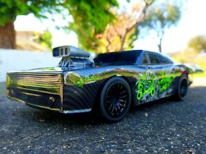 1:10 Remote Control High Speed RC Muscle Drag Car Darkness Ghost