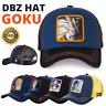 Dragon Ball Hat GOKU DBZ BUU MAJIN PICOLLO VEGETA TRUNKS KAME Net Baseball Cap