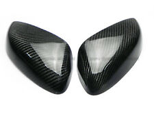 New Carbon Fiber Craft 2Pcs Side Mirror Cover Protector Kits For Mazda RX8 RX-8
