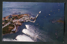 C1960s Aerial View of Cape Porpoise Harbour, Kennebunkport, Maine, USA