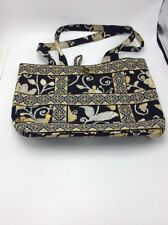 Vera Bradley Yellow & Black pocket book gently used V23