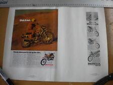 Honda 1970 Motosport 350 SL350 SL90 SL100 CL175K3 CL175 Magazine Ad No 12-80-423