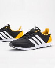 Adidas Scarpe Sportive Sneakers V RACER 2.0 Uomo Nero Giallo