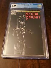 Moon Knight 25 CGC 9.0 White Pages (1st app Black Spectre) #025
