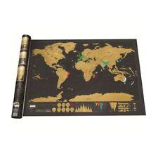 RESPEKT Weltkarte zum freirubbeln - Schöne Erinnerung an bisherige Reisen
