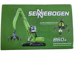 1:50 Sennebogen 860 R Bagger Modellbagger Neuzustand